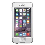 Nüüd Case for iPhone 6 - White / Gray