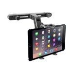 "Adjustable Car Seat Head Rest Mount & Holder for iPads and Other Tablets (7"" - 10"")"