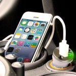 iPhone 5/5s/5c/6/6 Plus Car Charger - White