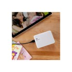 WD 2TB White My Passport Ultra Portable External Hard Drive - USB 3.0 WDBBKD0020BWT-NESN