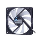 Silent Series R3 - Case fan - 120 mm - black, white