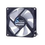 MetaCreations Silent Series R3 - Case fan - 80 mm - black, white FD-FAN-SSR3-80-WT