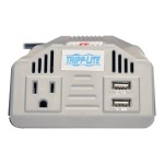 200W PowerVerter Ultra-Compact Car Inverter with Outlet and 2 USB Charging Ports