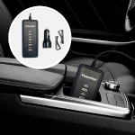 40W 5-Port USB Car Charger for iPhone, iPad, Smartphones & Tablets - Intelligent circuitry charges 5 devices as fast as the factory adapter - 3 2.4A & 2 1A Ports