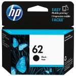 HP Inc. 62 Black Original Ink Cartridge C2P04AN#140