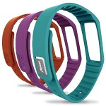 Fusion Accessory Bands 3-Pack (Sky blue, Orange, and Plum)