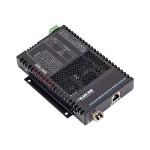 Industrial Gigabit PoE/PoE+ Media Converter - Fiber media converter - Gigabit Ethernet - 1000Base-T, 1000Base-X - RJ-45 / SFP (mini-GBIC)