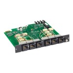 Pro Switching System Multi Switch Card, CAT6, Dual 2-to-1 - Expansion module