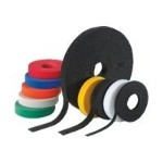 TAK-TY HLM / HLS Hook & Loop Strips and Rolls - Cable tie - blue