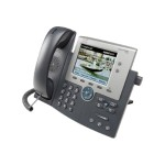 Cisco Unified IP Phone 7945G - VoIP phone - SCCP, SIP - 2 lines - silver, dark gray CP-7945G++=
