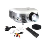 PyleHome PRJD907 - LCD projector - 2000 lumens - 800 x 480 - 15:9