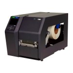 T8204 - Label printer - DT/TT - Roll (4.5 in) - 203 dpi - up to 840.9 inch/min - USB, LAN, serial - auto cutter