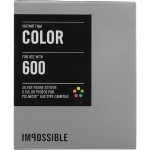 Impossible Instant Color Film with Silver Frames for Polaroid 600-Type Cameras PRD_2933