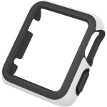 CandyShell Fit Apple Watch 42mm Case - White/Black