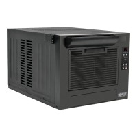 TrippLite Rackmount Cooling Unit Air Conditioner 7K BTU 2.0kW 120V 60Hz - Rack air-conditioning cooling system - AC 120 V - black - 8U SRCOOL7KRM