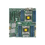 Super Micro SUPERMICRO X10DAC - Motherboard - extended ATX - LGA2011-v3 Socket - 2 CPUs supported - C612 - USB 3.0 - 2 x Gigabit LAN - HD Audio (8-channel) - for SC732; SC743; SC745; SC747; SC826; SC835; SC836; SC846 MBD-X10DAC-B