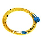 Network cable - LC single-mode (M) to LC single-mode (M) - 98 ft - fiber optic - 9 / 125 micron - OS2 - yellow