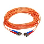 Network cable - LC multi-mode (M) to LC multi-mode (M) - 30 ft - fiber optic - 50 / 125 micron - OM2 - riser - orange