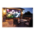 DIYW116H2 - Projection screen - wall mountable - 116 in (116.1 in) - 16:9 - MaxWhite B - black