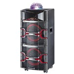 "Supersonic 2 x 12"" Bluetooth Professional DJ Speaker with Disco Lights IQ-3912DJBT"