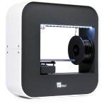 """BeeTheFirst 3D Printer - Very Portable - Build Size 7.5 x 5.3 x 4.9""""  at resolutions as fine as 50 microns."""