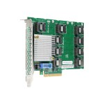 Hewlett Packard Enterprise SAS Expander Card - Storage contoller upgrade card - 24 Channel - SAS - for  ProLiant DL560 Gen9, DL560 Gen9 Base, DL560 Gen9 Entry, DL560 Gen9 Performance 804228-B21