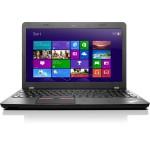 """ThinkPad E550 20DF Intel Core i3-4005U Dual-Core 1.70GHz Notebook - 4GB RAM, 500GB HDD, 15.6"""" HD LED, DVD-R DL, Gigabit Ethernet, 802.11ac, Webcam, 6-cell 48WHr Li-Ion, Graphite Black"""