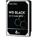 "WD WD Black Performance Desktop Hard Drive WD6001FZWX - Hard drive - 6 TB - internal - 3.5"" - SATA 6Gb/s - 7200 rpm - buffer: 128 MB WD6001FZWX"