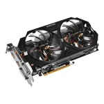 GV-R938WF2OC-2GD (rev. 1.0/1.1) - OC Edition - graphics card - Radeon R9 380 - 2 GB GDDR5 - PCI Express 3.0 x16 - 2 x DVI, HDMI, DisplayPort