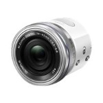 Olympus Air A01 - Digital camera - High Definition - smartphone attachable - 16.05 MP - 3 x optical zoom M.Zuiko Digital ED 14-42mm EZ lens - Wi-Fi, Bluetooth - white V208011WU000