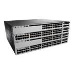 Catalyst 3850-48P-S - Switch - L3 - managed - 48 x 10/100/1000 (PoE+) - desktop, rack-mountable - PoE+ (435 W) - refurbished