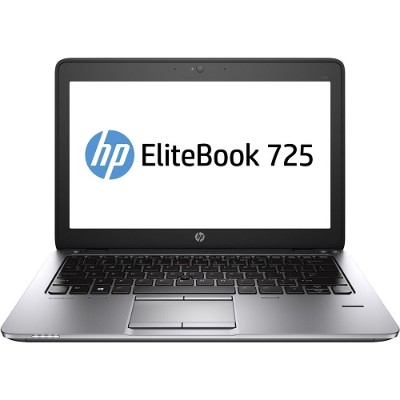 HP Inc.Smart Buy EliteBook 725 G2 AMD Quad-Core Pro A10-7350B 2.10GHz Notebook PC - 4GB RAM, 500GB HDD, 12.5