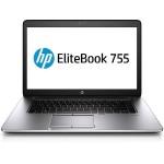 """EliteBook 755 G2 - A series A10 PRO-7350B / 2.1 GHz - Win 10 Pro 64-bit / Win 7 Pro 64-bit downgrade - pre-installed: Win 7 Pro 64-bit - 4 GB RAM - 500 GB HDD - 15.6"""" TN 1366 x 768 ( HD ) - Radeon R6"""