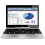 "EliteBook Revolve 810 G3 Tablet - Convertible - Core i5 5300U / 2.3 GHz - Win 10 Pro 64-bit - 8 GB RAM - 180 GB SSD - 11.6"" touchscreen 1366 x 768 ( HD ) - HD Graphics 5500 - NFC, 802.11ac"