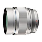 M.Zuiko Digital - Telephoto lens - 75 mm - f/1.8 ED - Micro Four Thirds - for  E-PL5, E-PM2