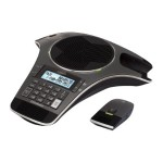 Vtech Communications ErisStation VCS702 - Cordless conference phone with caller ID - DECT 6.0 - gun metal VCS702