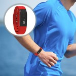 PowerX-fit Fitness Wristband with Bluetooth - Red