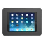 "Universal Secure Enclosure ""Rokku"" (Premium Line) Wall Mount Black - Wall mount for tablet - lockable - high-grade aluminum - black - mounting interface: 100 x 100 mm - for Apple iPad mini; iPad mini 2; 3; 4; Samsung Galaxy Tab A (8 in), Tab S2 (8 in)"