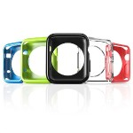 38mm Flexible TPU Case for Apple Watch - 5 Pack