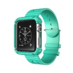 42mm Rugged Protective Case with Wristband for Apple Watch - Green