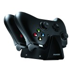 dreamGEAR Dual Charge Station - Wireless game controller charging stand + battery 2 x - 2 output connectors - for Xbox DGXB1-6611