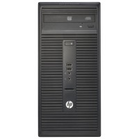 HP Inc. 280 G1 - Micro tower - 1 x Pentium G3260 / 3.3 GHz - RAM 4 GB - HDD 500 GB - DVD SuperMulti - HD Graphics - GigE - Win 7 Pro 64-bit (includes Win 10 Pro 64-bit License) - monitor: none - Smart Buy P0C86UT#ABA