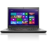 """ThinkPad T450s 20BX - Ultrabook - Core i5 5200U / 2.2 GHz - Win 7 Pro 64-bit (includes Win 8.1 Pro 64-bit License) - 4 GB RAM - 500 GB HDD (16 GB SSD cache) - 14"""" 1600 x 900 (HD+) - HD Graphics 5500 - Wi-Fi - WWAN upgradable - kbd: Spanish"""