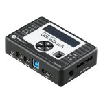 WiebeTech Forensic UltraDock v5.5 - Storage controller - ATA / SATA 3Gb/s - eSATA 3Gb/s, FireWire 800, USB 2.0, USB 3.0