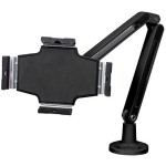 Desk Mountable Tablet Stand with Articulating Arm for iPad or Android Tablets