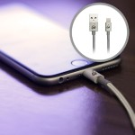 Charge & Sync Flip Pro - Reversible USB to Lightning Cable, 3.3ft (1m) - Space Gray
