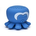 "On Hand Software ""Aretha"" Blue Octopus Shower Speaker BLU-SHSOH"