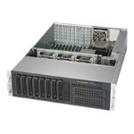 "Supermicro SuperServer 6038R-TXR - Server - rack-mountable - 3U - 2-way - RAM 0 MB - SATA - hot-swap 3.5"" - no HDD - AST2400 - GigE - no OS - monitor: none"
