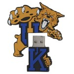 "8GB NCAA Kentucky ""UK Logo Shape"" USB Drive"