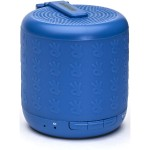 Portable Sport Speaker - Durable and water-resistant w/ built-in mic - Blue
